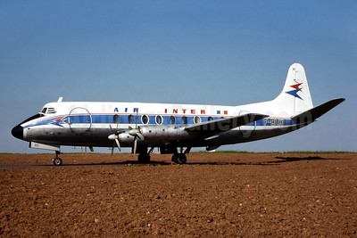 Air Inter Vickers Viscount 708 F-BLHI (msn 036) EMA (SM Fitzwilliams Collection). Image: 933454.