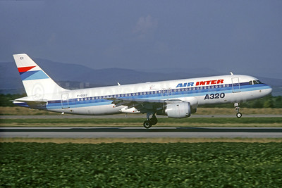 Air Inter Airbus A320-111 F-GGEC (msn 013) BSL (Christian Volpati Collection). Image: 927880.