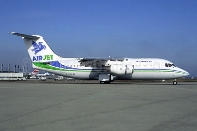 Air Jet BAe 146-200 QC F-GLNI (msn E2188) CDG (Christian Volpati). Image: 946533.