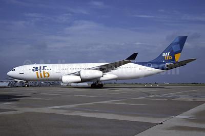Air Lib (Air Liberte) Airbus A340-211 F-GLZF (msn 043) ORY (Jacques Guillem). Image: 946435.