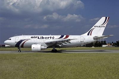 Air Liberte Airbus A310-221 F-GPDJ (msn 162) ORY (Jacques Guillem). Image: 951344.