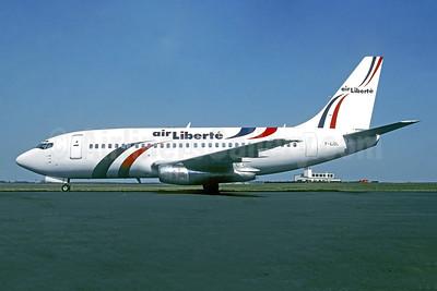 Air Liberte Boeing 737-210C F-GJDL (msn 20440) LBG (Christian Volpati). Image: 951357.