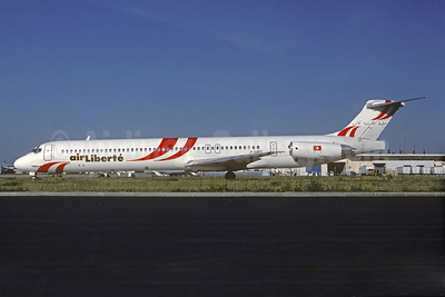 Air Liberte McDonnell Douglas DC-9-83 (MD-83) F-GHEC (msn 49662) ORY (Christian Volpati Collection). Image: 932284.