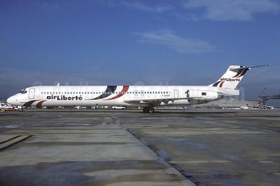 Air Liberte McDonnell Douglas DC-9-83 (MD-83) F-GHHP (msn 49986) CDG (Christian Volpati). Image: 932285.