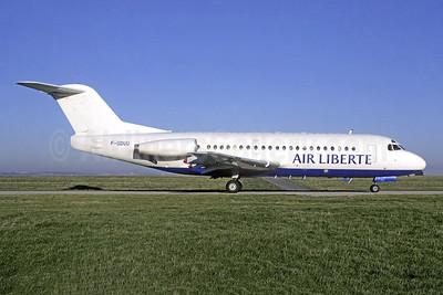 Air Liberte Fokker F.28 Mk. 2000 F-GDUU (msn 11108) ORY (Jacques Guillem). Image: 951360.
