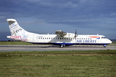 Air Liberte (Airlinair) ATR 72-202 F-GKOB (msn 232) (Libres) ORY (Jacques Guillem). Image: 946469.