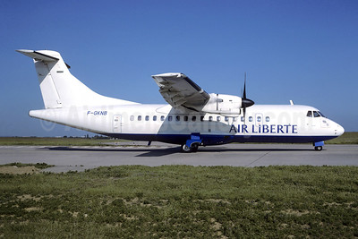 Air Liberte (Airlinair) ATR 42-300 F-GKNB (msn 226) ORY (Jacques Guillem). Image: 946470.