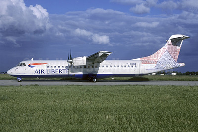Air Liberte (Airlinair) ATR 72-202 F-GKOA (msn 201) (Louvre) ORY (Jacques Guillem). Image: 946468.