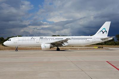 Air Mediterranee Airbus A321-111 F-GYAZ (msn 519) PMI (Ton Jochems). Image: 912784.