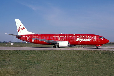 Operated by Virgin Express