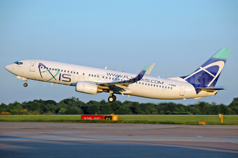 Axis Airways Boeing 737-86N WL F-GIRS (msn 28612) MAN (Nik French). Image: 903057.