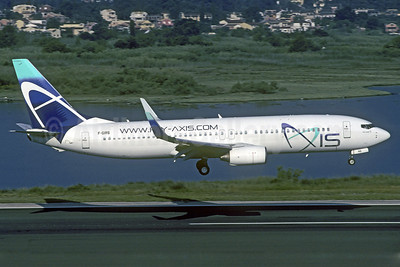 Axis Airways Boeing 737-86N WL F-GIRS (msn 28612) CFU (Jacques Guillem Collection). Image: 913682.