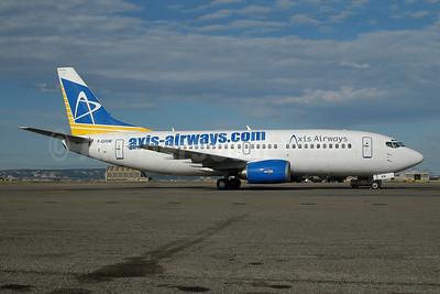 Axis Airways Boeing 737-36E F-GIXM (msn 25159) MRS (Ton Jochems). Image: 9543187.