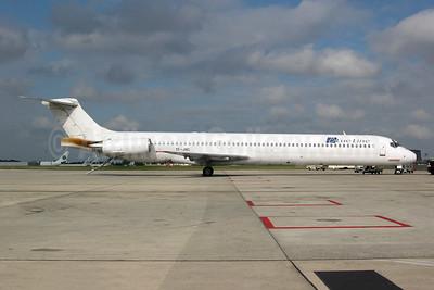 Blue Line (France) (JetX) McDonnell Douglas DC-9-83 (MD-83) TF-JXC (msn 49627) CDG (Pepscl). Image: 945508.