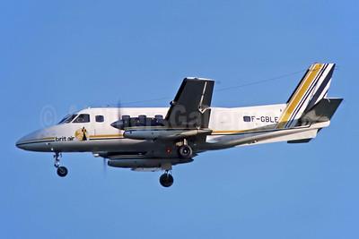 Brit Air (France) Embraer EMB-110P2 Bandeirante F-GBLE (msn 110213) JER (Richard Vandervord). Image: 952470.