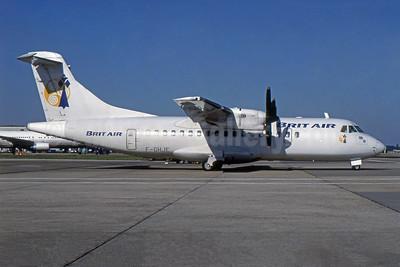 Brit Air (France) ATR 42-300 F-GHJE (msn 70) LGW (SPA). Image: 954477.