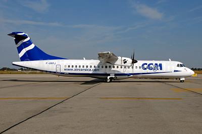 CCM Airlines ATR 72-212A (ATR 72-500) F-GRPJ (msn 724) LYS (Ton Jochems). Image: 954206.