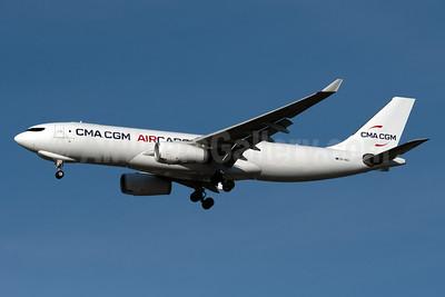 CMA CGM Air Cargo (Air Belgium 2nd) Airbus A330-243 (F) OO-SEA (msn 1594) JFK (Fred Freketic). Image: 955439.