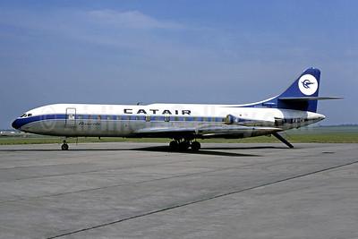 Catair Sud Aviation SE.210 Caravelle 6N F-BYCA (msn 66) (SABENA colors) LBG (Christian Volpati). Image: 950223.