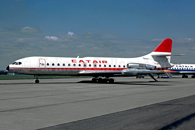 Catair Sud Aviation SE.210 Caravelle 6R F-GRGX (msn 234) (SATA colors) LBG (Christian Volpati). Image: 934323.