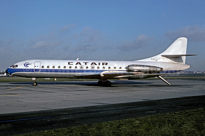 Catair Sud Aviation SE.210 Caravelle 6R F-BUFF (msn 101) LBG (Christian Volpati). Image: 902437.