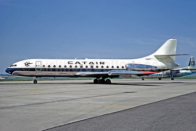 Catair Sud Aviation SE.210 Caravelle 3 F-BSRD (msn 38) LBG (Christian Volpati). Image: 949345.