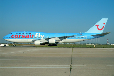 Corsairfly Boeing 747-422 F-GTUI (msn 26875) (TUI colors) ORY. Image: 909219.