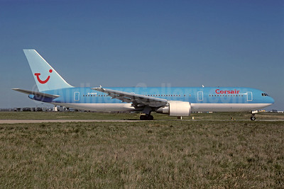 Corsair Boeing 767-304 ER WL G-OBYB (msn 28040) (TUI colors) ORY (Jacques Guillem). Image: 945248.