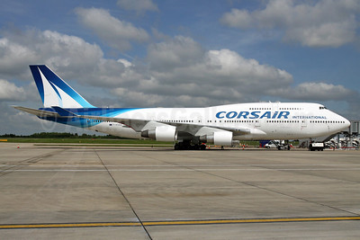 Corsair International Boeing 747-422 F-HSEA (msn 26877) STN (Pedro Pics). Image: 912401.