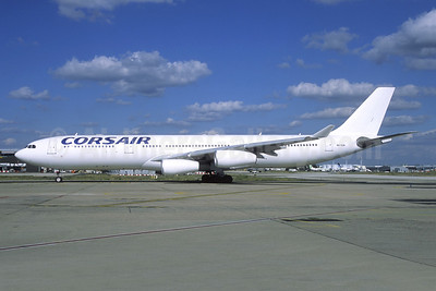 Corsair (HiFly) Airbus A340-313 9H-SUN (msn 367) ORY (Jacques Guillem). Image: 946492.