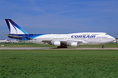 Corsair International Boeing 747-422 F-GTUI (msn 26875) ORY (Jacques Guillem). Image: 921188.