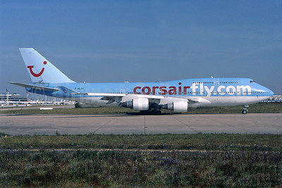Corsairfly (corsarifly.com) Boeing 747-422 F-HLOV (msn 25379) (TUI colors) ORY. Image: 901435.