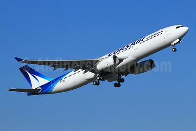 Corsair International Airbus A330-343 F-WWCZ (F-HSKY) (msn 1359) TLS (Eurospot). Image: 909594.
