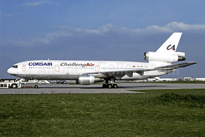 Leased from ChallengAir on March 20, 1996