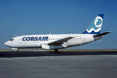 Corsair - Aigle Azur Boeing 737-2K5 F-GMJD (msn 22599) CDG (Christian Volpati Collection). Image: 945251.