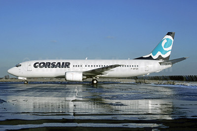 Corsair Boeing 737-4B3 F-GFUH (msn 24751) ORY (Jacques Guillem). Image: 946491.