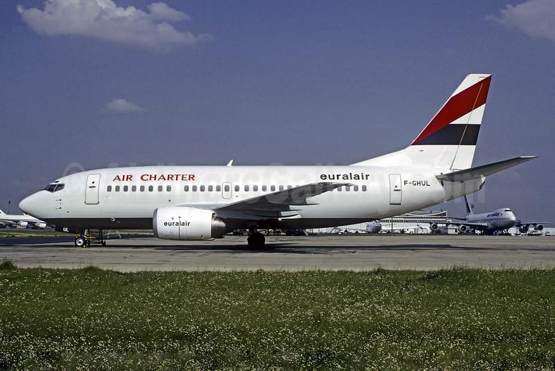 Air Charter-Euralair Boeing 737-53C F-GHUL (msn 24826) (Euralair colors) CDG (Christian Volpati). Image: 927278.