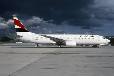Euralair Boeing 737-85F F-GRNB (msn 28824) CDG (Christian Volpati). Image: 953541.