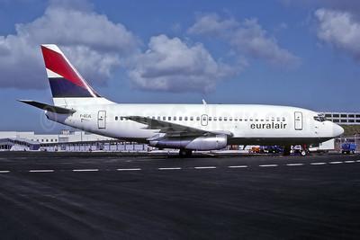 Euralair Boeing 737-222 F-GCJL (msn 19067) MIA (Bruce Drum). Image: 105104.