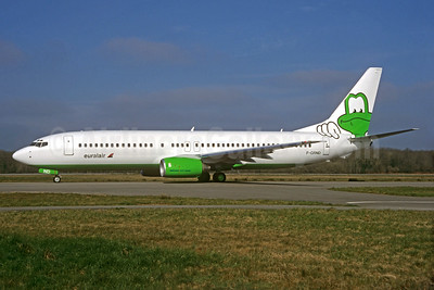 Euralair's 2000 frog special livery
