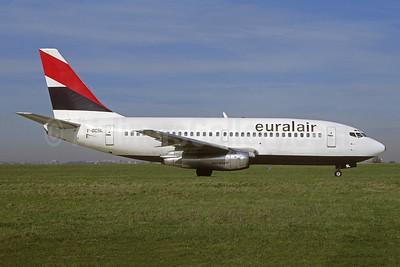Euralair Boeing 737-222 F-GCSL (msn 19066) LBG (Jacques Guillem). Image: 953545.