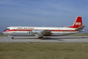 Europe Aero Service-EAS Vickers Vanguard 952 F-BXOG (msn 739) (Air Canada colors) LBG (Jacques Guillem). Image: 920378.
