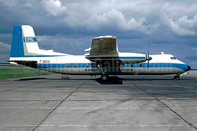 Europe Aero Service-EAS Handley Pace Herald 210 F-BOIZ (msn 188) LBG (Christian Volpati). Image: 948591.