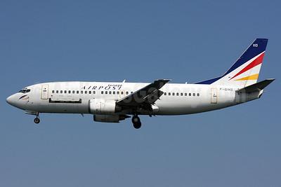 Europe Airpost Boeing 737-33A F-GIXD (msn 25744) (L' Aerooostale colors) CFU (Wingnut). Image: 901476.