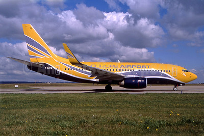 Europe Airpost Boeing 737-73V WL F-GZTC (msn 32414) ORY (Pepscl). Image: 907405.