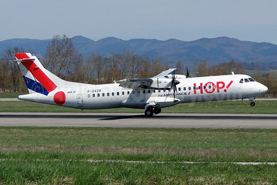 Hop! For Air France ATR 72-212A (ATR 72-500) F-GVZR (msn 498) BSL (Paul Bannwarth). Image: 911775.