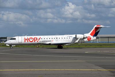 Hop! For Air France Bombardier CRJ700 (CL-600-2C10) F-GRZH (msn 10089) AMS (Ton Jochems). Image: 947373.