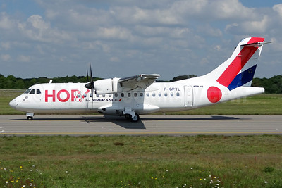 Hop! For Air France ATR 42-500 F-GPYL (msn 542) NTE (Paul Bannwarth). Image: 913348.