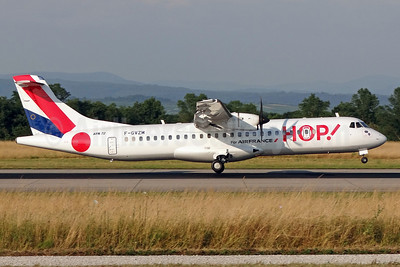 Hop! For Air France ATR 72-212A (ATR 72-500) F-GVZM (msn 590) BSL (Paul Bannwarth). Image: 913349.