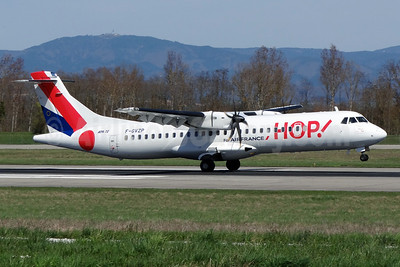 Hop! For Air France ATR 72-212A (ATR 72-500) F-GVZP (msn 494) BSL (Paul Bannwarth). Image: 911773.